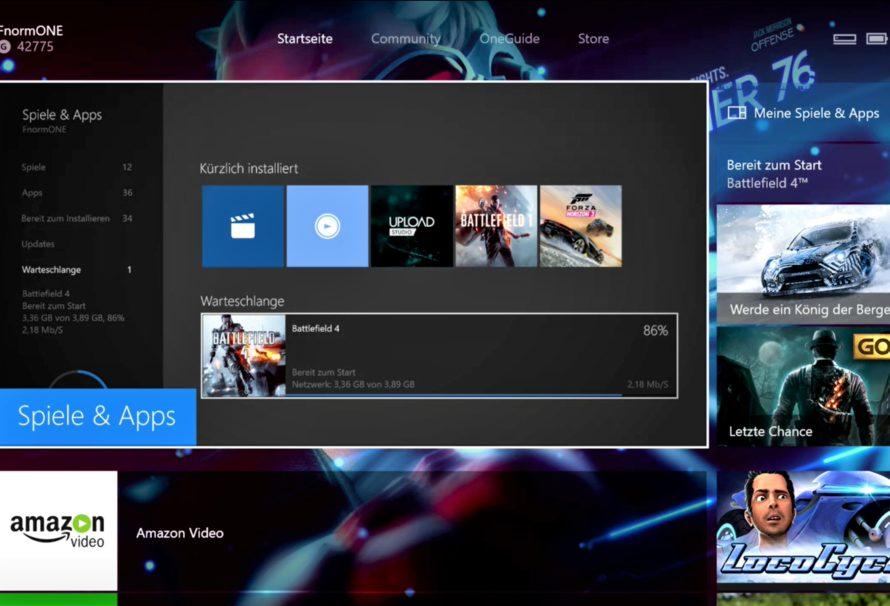 Xbox One Update – Neues Dashboard Update bringt einige Verbesserungen