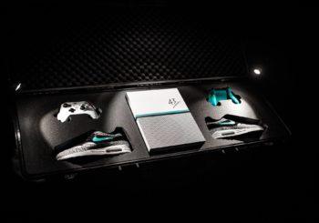 Xbox One S im Nike Air Max 1 Atmos Design zeigt sich auf Modemesse in Frankfurt