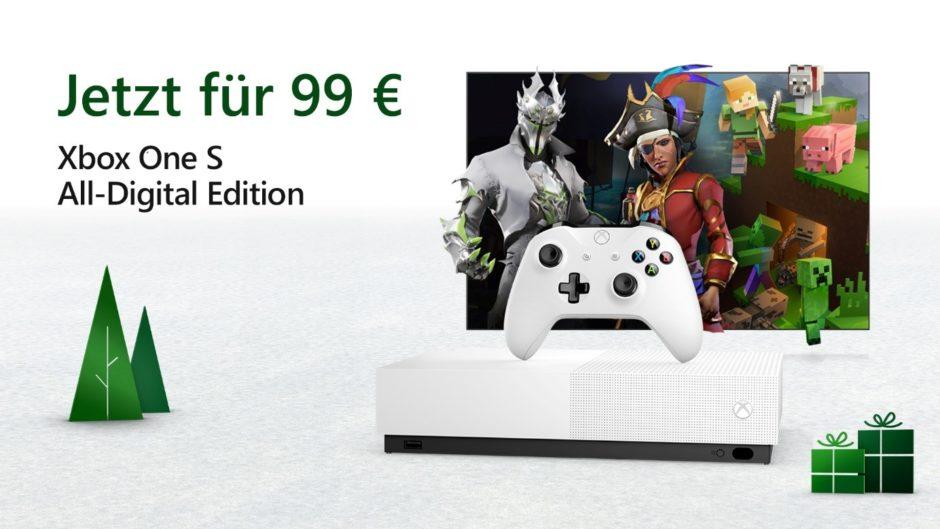 Xbox One S Digital – Im Black Friday Deal unter 100 Euro erhältlich