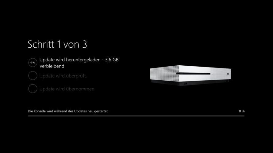 Xbox One Dashboard – Preview Update Alpha-Ring 1711: Noch mehr Fehler behoben