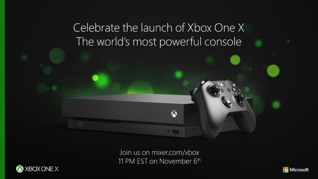 Xbox One X – Microsoft startet Launch-Event mit allerhand Überraschungen