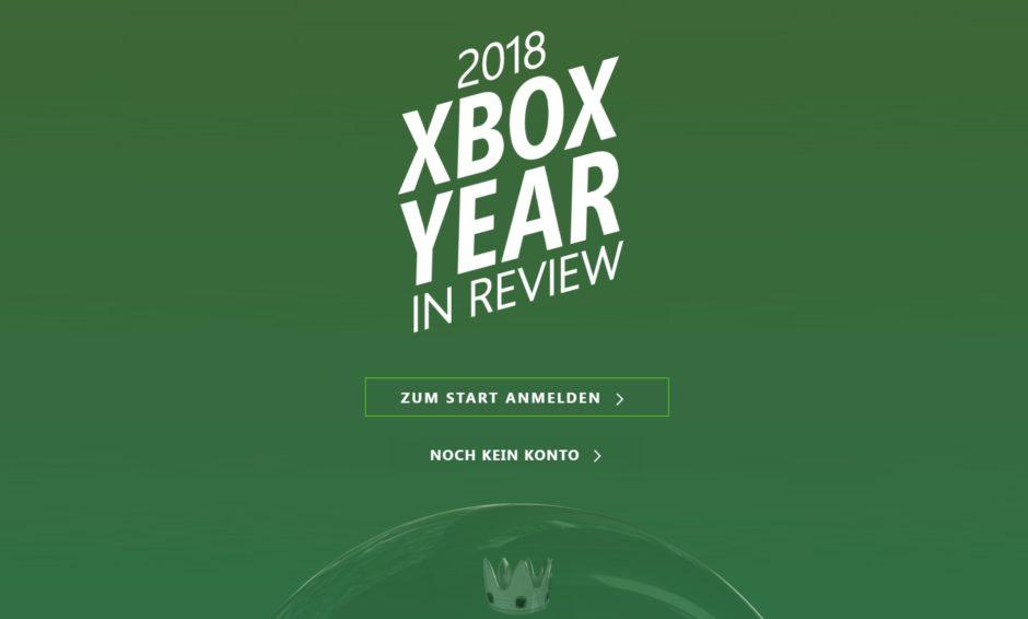 Xbox One – Microsoft zeigt euch euer Gaming-Jahr im Rückblick