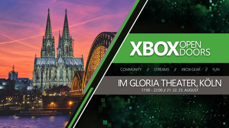 gamescom 2019: Xbox Open Doors – Das ultimative Community-Event