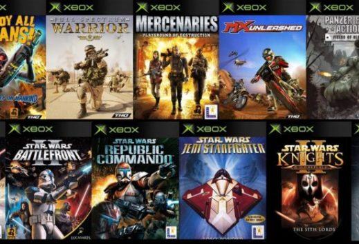 Xbox Original - Jede Menge Star Wars Spiele stehen bereit