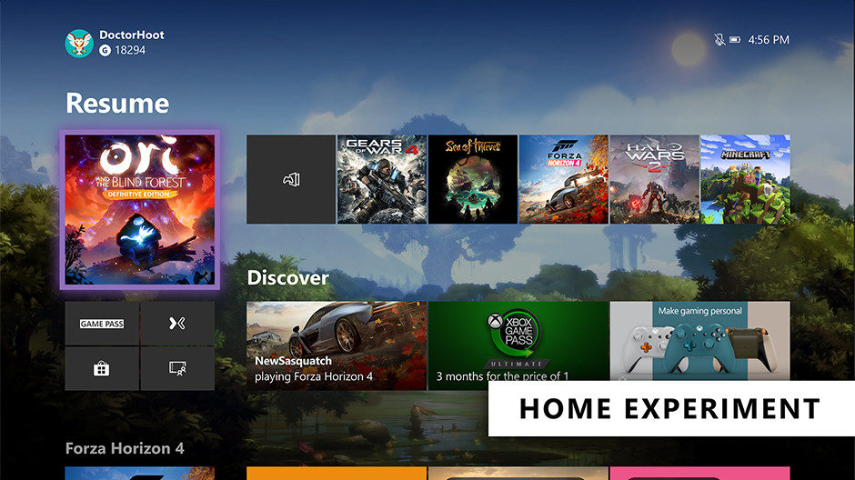 Xbox One – Insider bekommen neue Home-Oberfläche