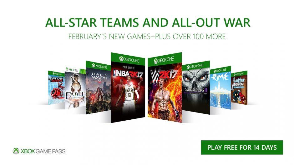 Xbox Game Pass – Mit acht neuen Titeln im Februar