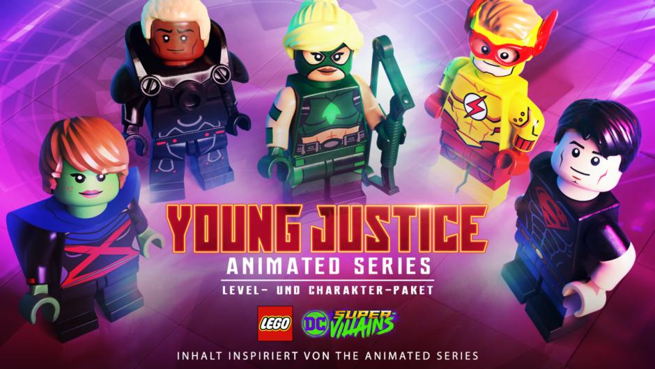 LEGO DC Super-Villains – Young Justice Level- und Charakter-Pack ab sofort erhältlich