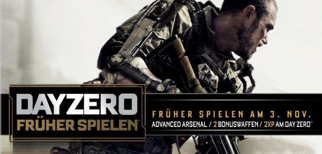Call of Duty: Advanced Warfare – Activision kündigt Day Zero Edition an