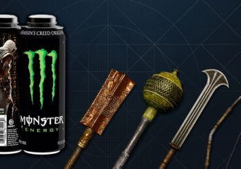 Assassin´s Creed Origins und Monster Energy schließen sich für einzigartige Spielinhalte & besondere Preise zusammen
