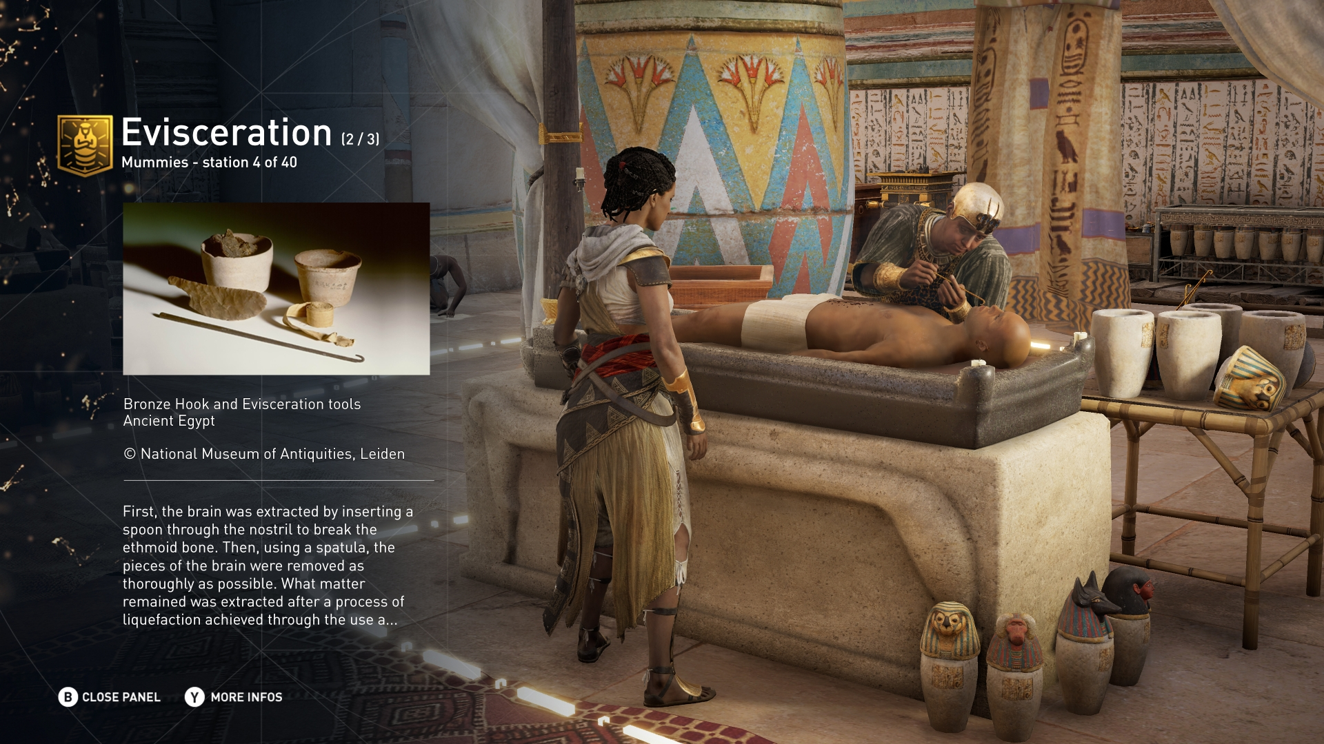 Die Entdeckungstour von Assassin's Creed: Das alte Ägypten