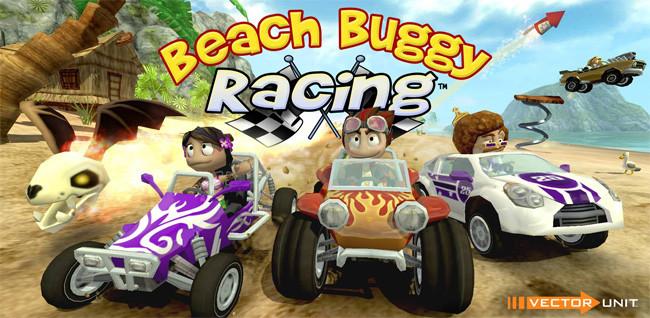 Beach Buggy Racing steht ab sofort zum Download bereit