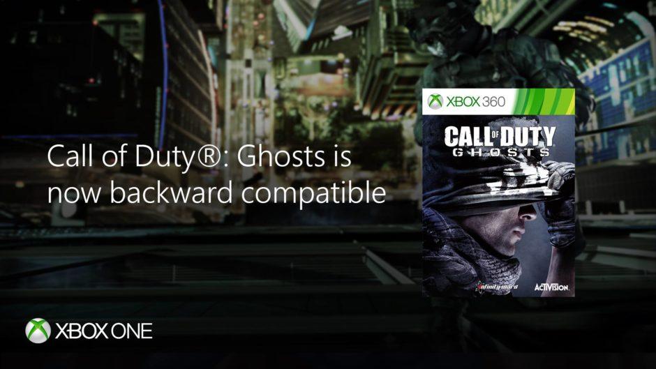 Xbox One Abwärtskompatibilität – Call of Duty: Ghosts ab sofort mit im Gepäck