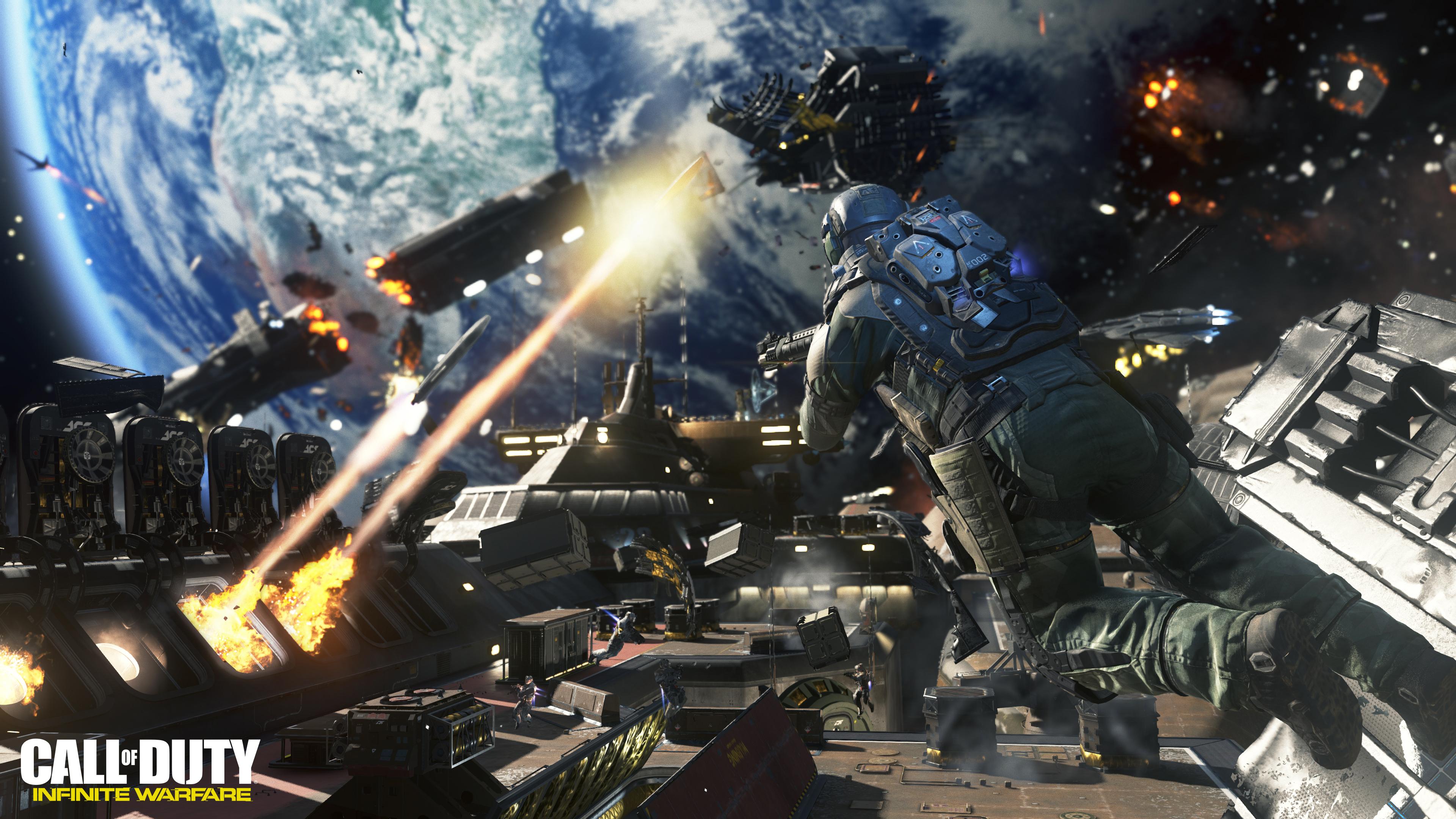 Call of Duty Infinite Warfare Space