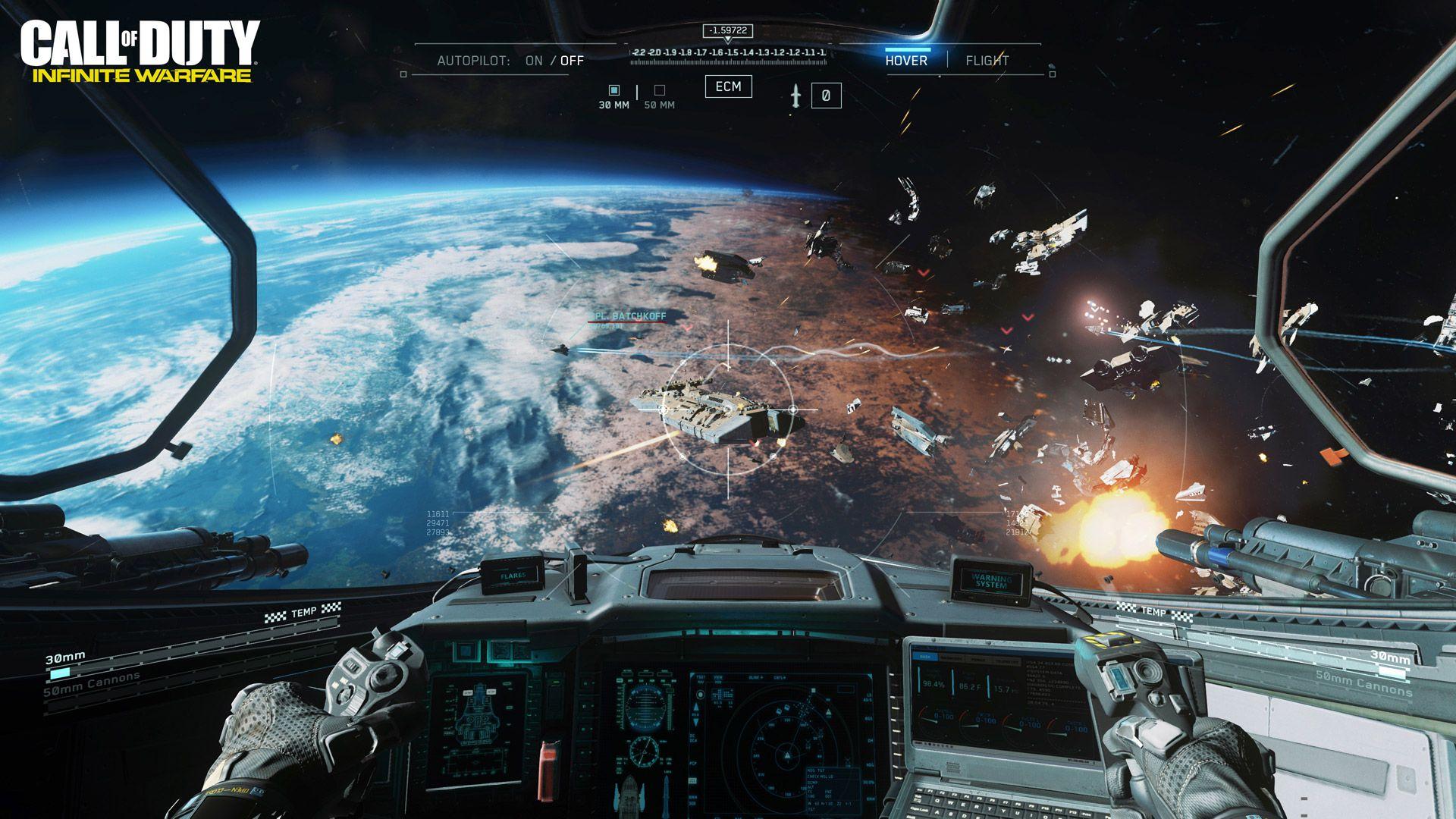 Infinite Warfare Space Battle