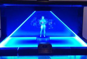 Cortana als echtes Hologram nachgebaut