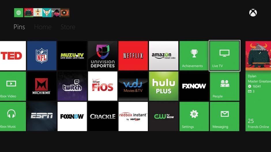 Xbox One – Benutzeroberfläche wird angepasst