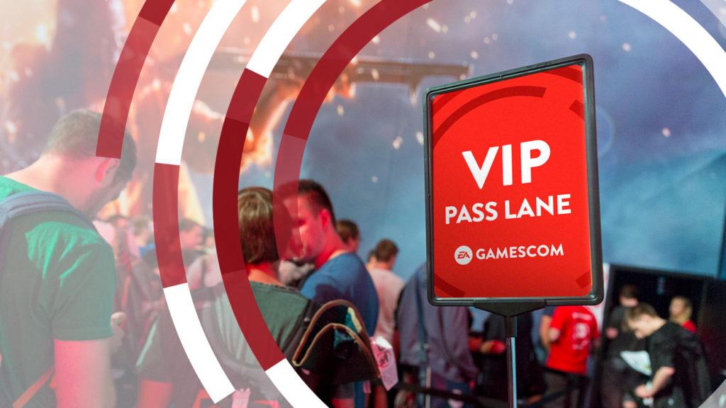 gamescom 2017 – Staubt jetzt einen EA VIP-Pass ab