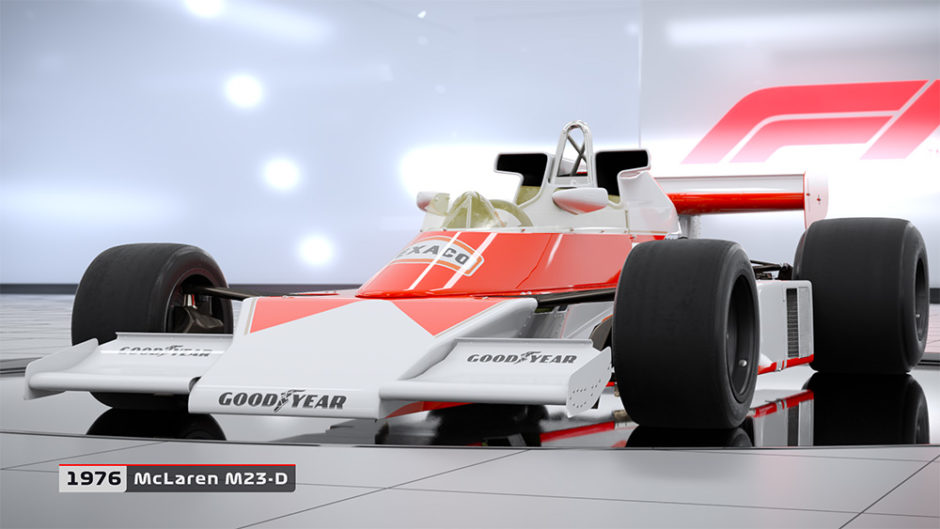 F1 2018 – Liste der Classic Cars veröffentlicht