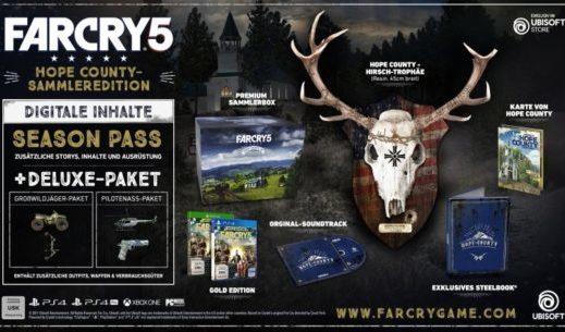 E3 2017: Ubisoft kündigt Far Cry 5-Sammleredition an