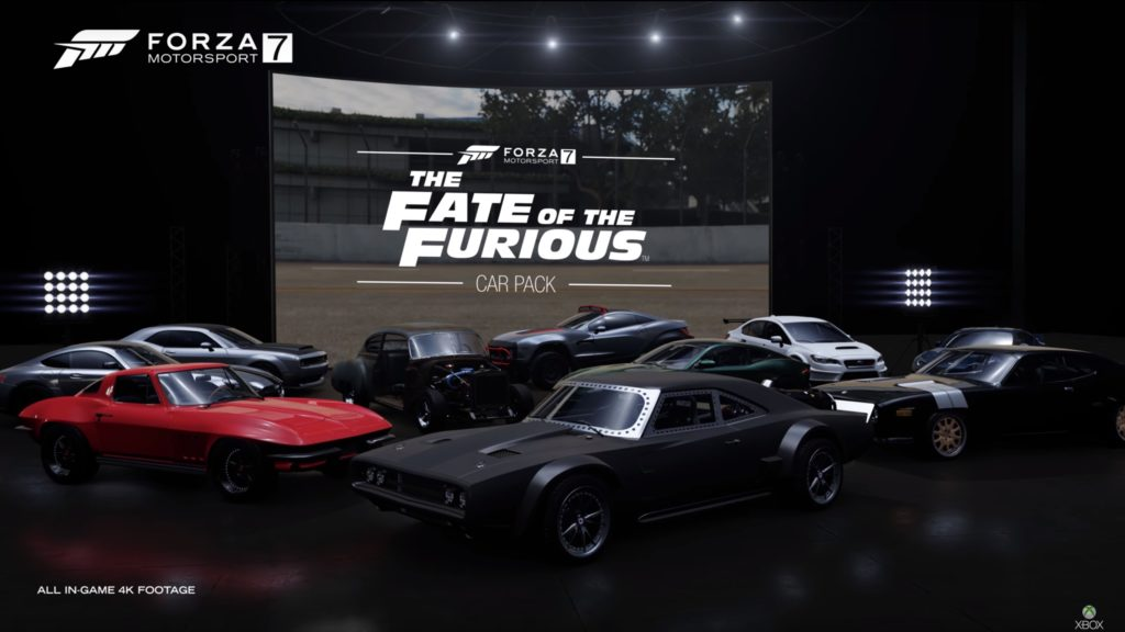 Forza Motorsport 7 - Fate of the Furious-Autopaket vorgestellt ...