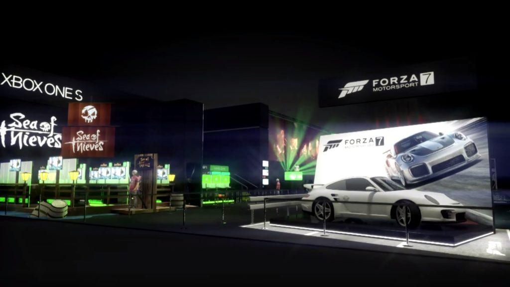 gamescom 2017 – Macht eine virtuelle Tour durch den Xbox-Stand