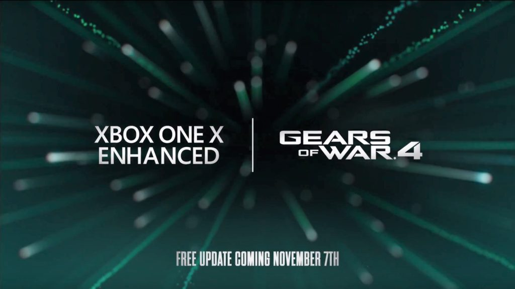 Gears of War 4 – Gebt euch den Xbox-One-X-Enhanced-Trailer