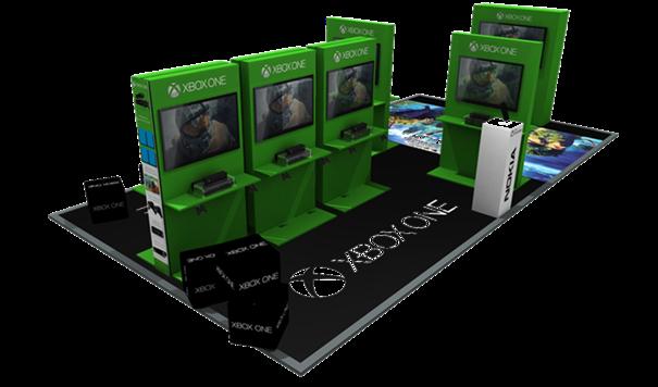 Xbox One Mall Invasion gestartet