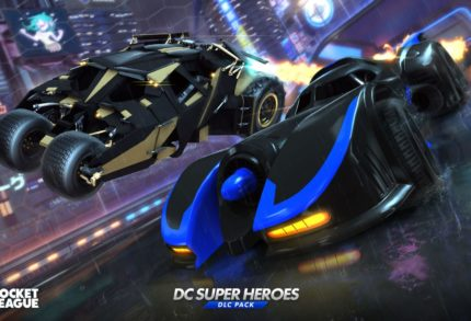 Rocket League - DC Super Heroes-DLC unterwegs