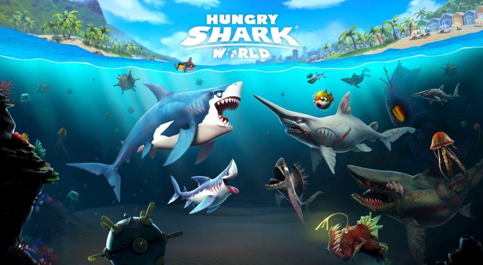 Hungry Shark World – Beliebte Mobile-Spielereihe erscheint auch für die Xbox One