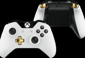 Xbox One Lunar White Wireless Controller - Vier weitere Bilder in Nahaufnahme