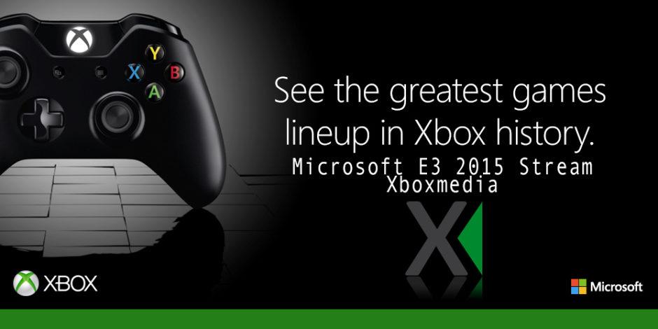 E3 2015: Hier könnt ihr die Pressekonferenz von Microsoft anschauen