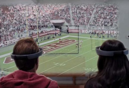 HoloLens - Football im Wohnzimmer: Microsoft zeigt beeindruckende Demo