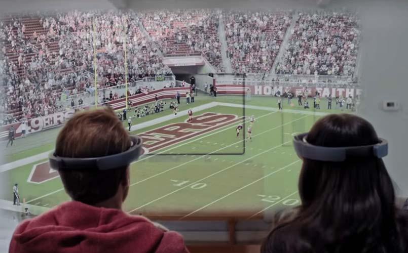 HoloLens – Gears of War 4 mit der Xbox App gestreamt