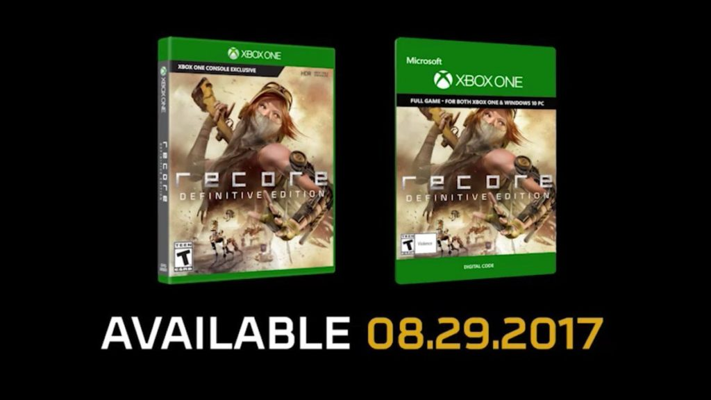 ReCore Definitive Edition – Ab sofort vorbestellbar