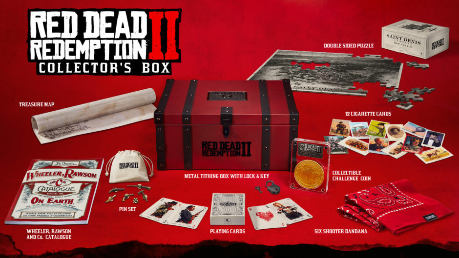 Red Dead Redemption 2 – Special Edition, Ultimate Edition & Collector´s Box ab sofort vorbestellbar