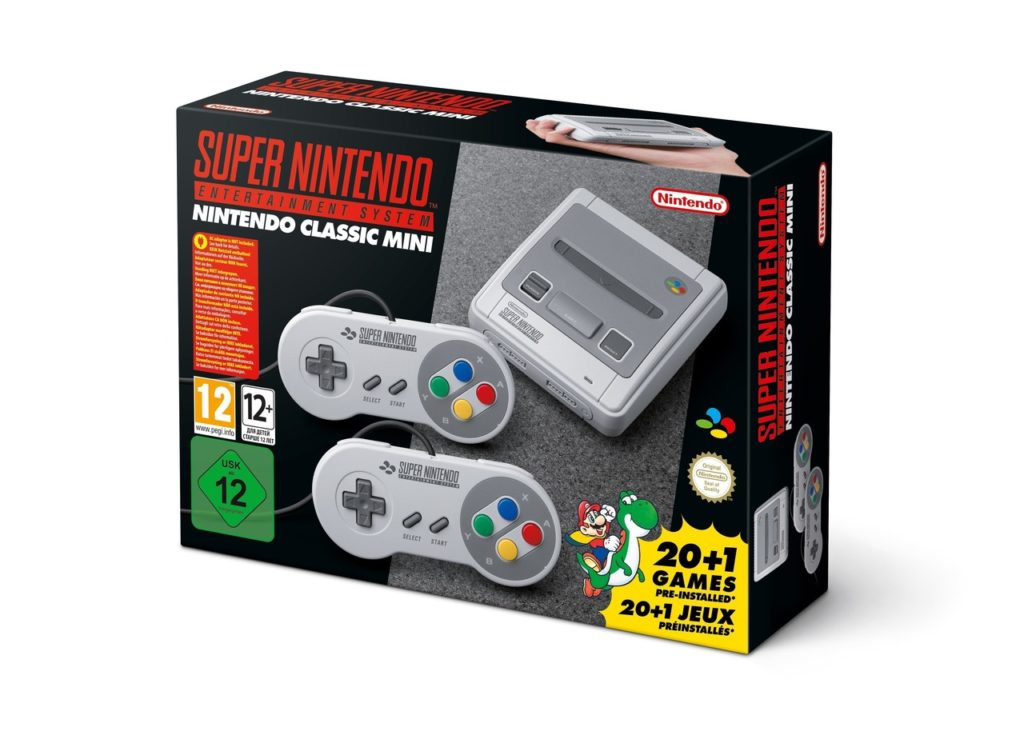 Nintendo kündigt SNES Classic Edition an + Preis und Release-Datum