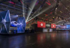 Gigantische Bauten am Star Wars Battlefront II-Stand auf der gamescom 2017 gesichtet