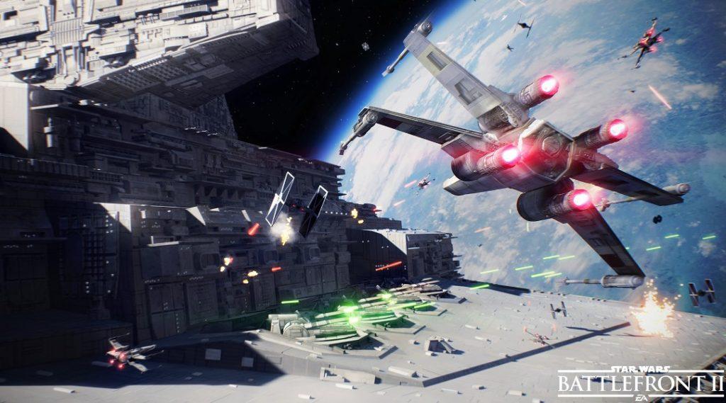 Star Wars Battlefront 2 – Erster Trailer zum Sternenjäger-Angriff-Modus