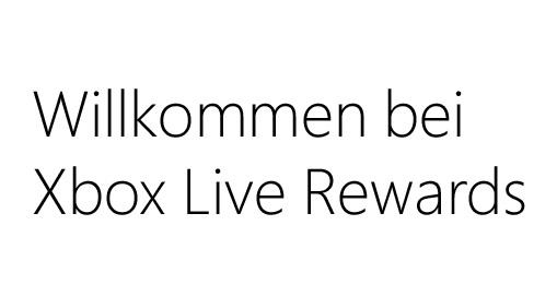 Xbox LIVE Reward-Programm im neuen Gewand