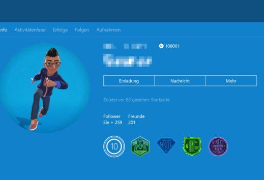 Xbox One Dashboard - Preview-Update Alpha & Skip Ahead 1806: Avatare 2.0 stehen zum testen bereit