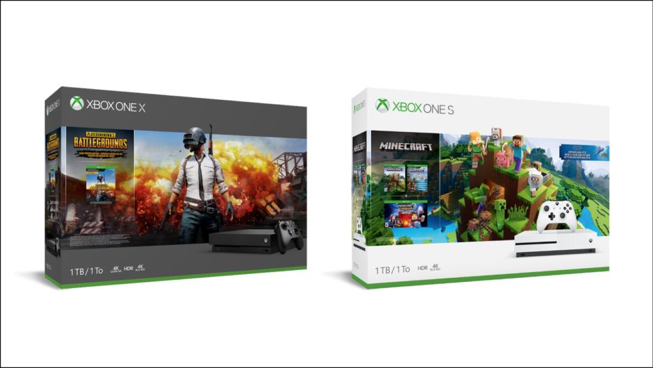 Xbox One – Zwei neue Bundles betreten die Bühne