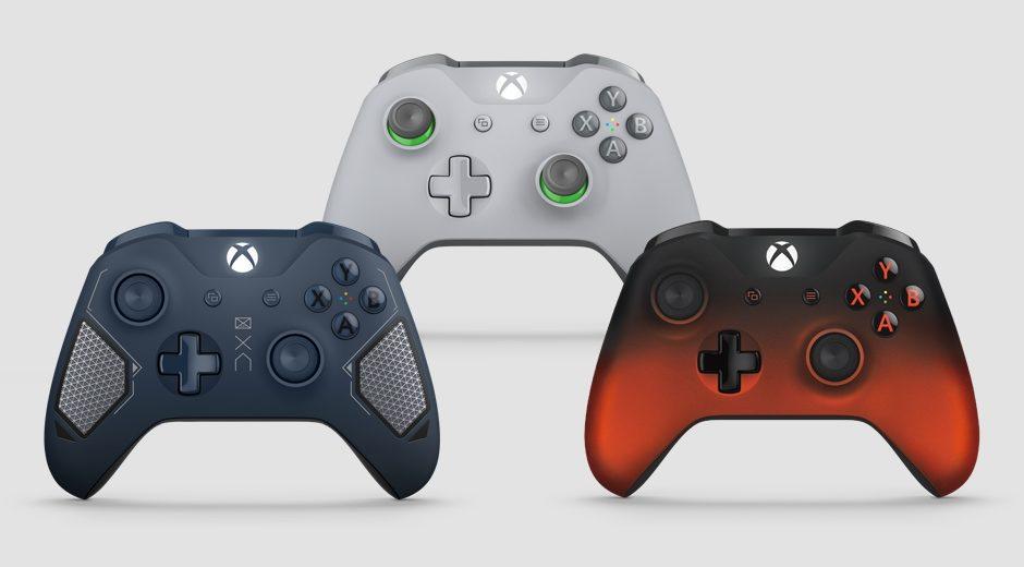 Xbox One – Microsoft stellt drei weitere Controller im schicken Design vor