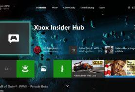 Xbox One Dashboard - Xbox Insider im Beta- und Delta-Ring erhalten Herbst-Update