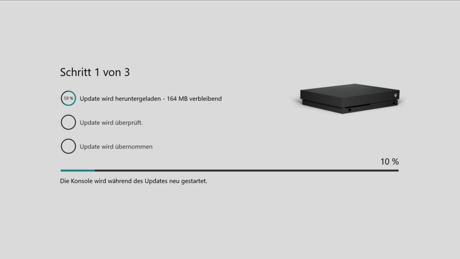 Xbox One Dashboard – Preview-Update Alpha-Ring 1805: Mit drei neuen Features an Bord