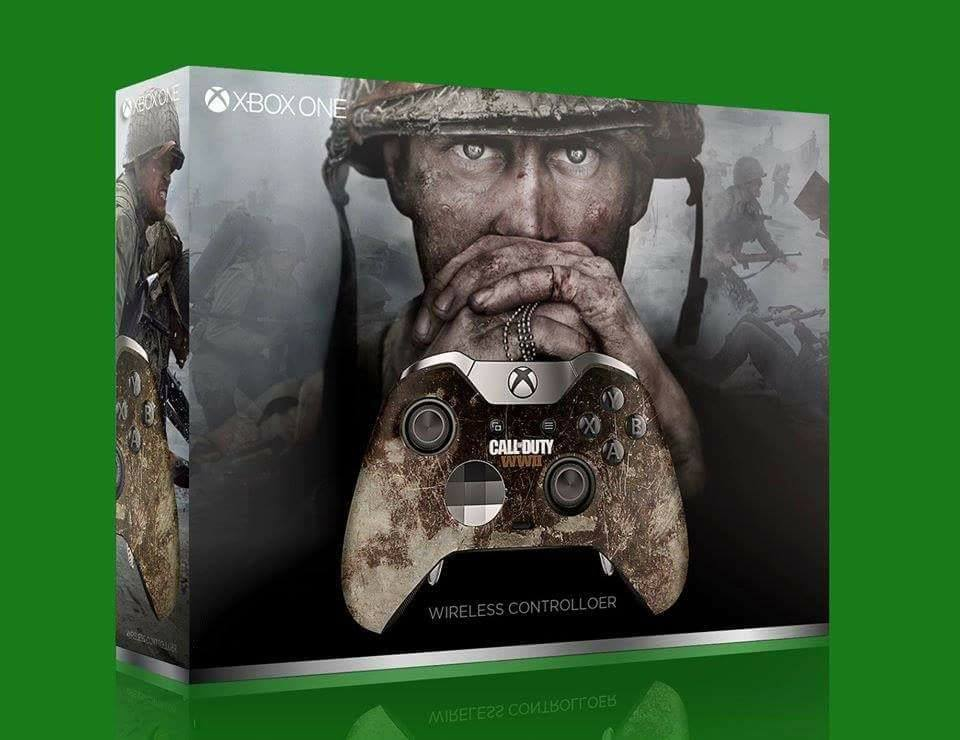 xbox one elite controller special edition call of duty: world war 2