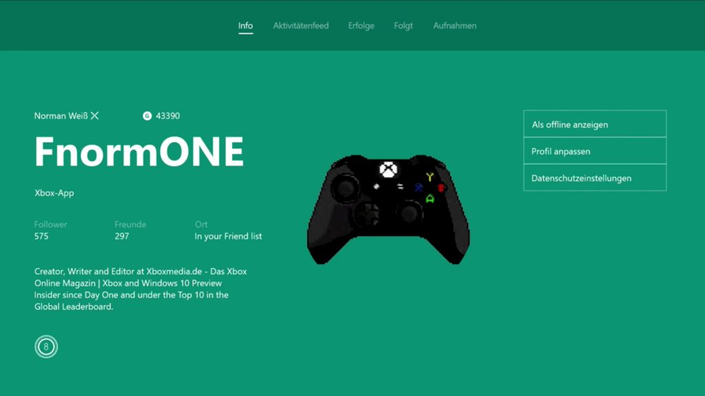 Xbox One – So verwendet ihr eure eigenen Gamerpics richtig