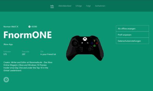 Xbox One - So verwendet ihr eure eigenen Gamerpics richtig