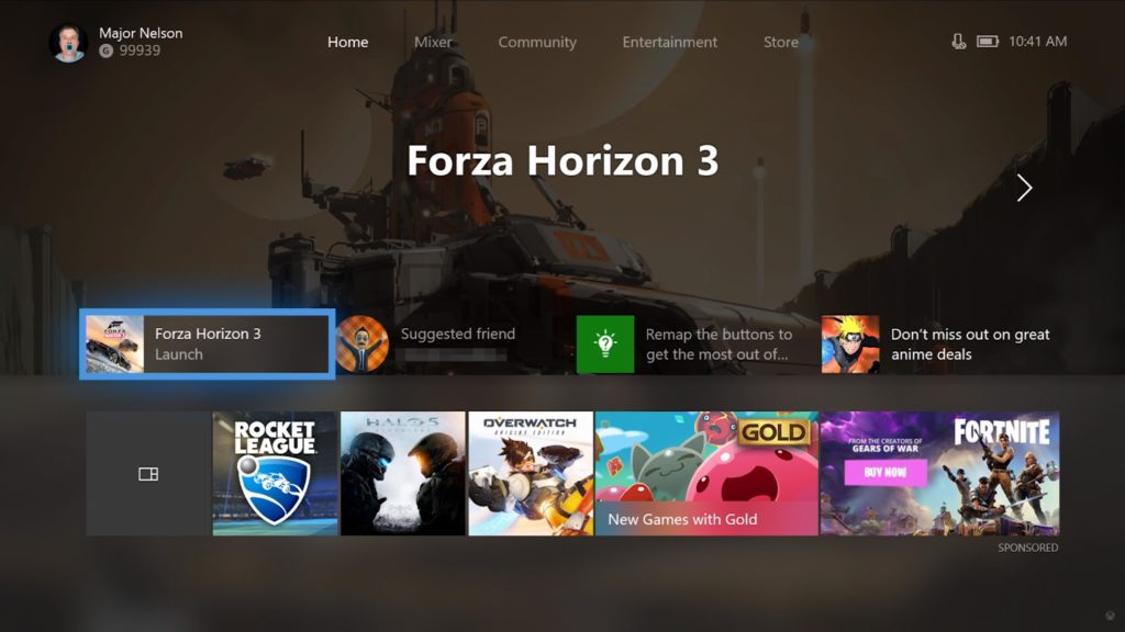 Xbox One – Fluent-Design Dashboard im Herbst auch in hell?