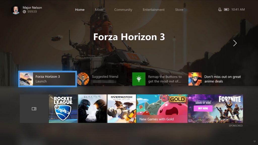 Xbox One Dashboard – Komplett erneuertes Design rollt ab sofort für Xbox Insider aus