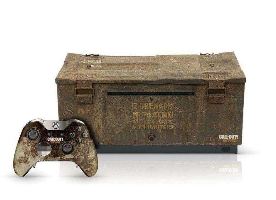Call of Duty: World War 2 Xbox One Special Edition – So könnte doch auch mal eine Konsole aussehen